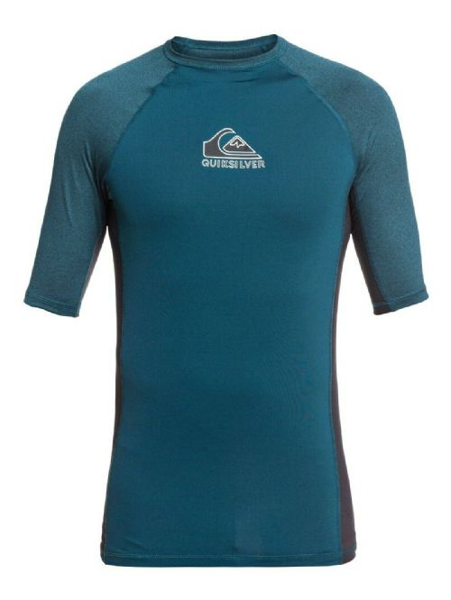 QUIKSILVER MENS RASH VEST.NEW BACKWASH UPF50+ SURF TOP RASHGUARD T SHIRT S20 31
